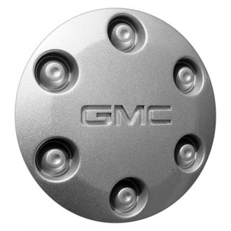 Replace® - Remanufactured Silver Wheel Center Cap With GMC Logo