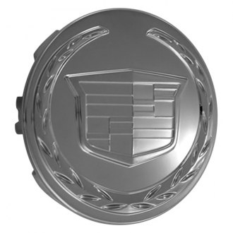 Replace® - Remanufactured Caddy Chrome Wheel Center Cap With Cadillac Logo