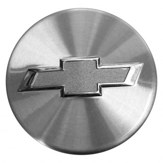 Replace® - Remanufactured Front Machined Wheel Center Cap With Chevrolet Logo