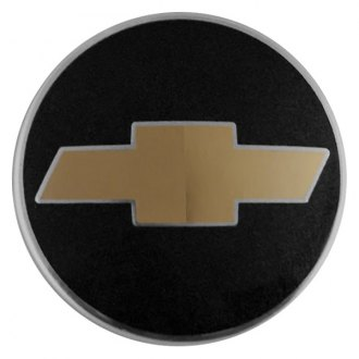 Replace® - Remanufactured Metallic Charcoal Wheel Center Cap With Chevrolet Logo