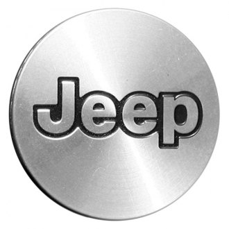Replace® - Remanufactured Machined Wheel Center Cap With Jeep Logo