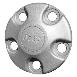 Replace® - Remanufactured Silver Wheel Center Cap With Jeep Logo