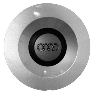 Replace® - Remanufactured Silver Wheel Center Cap With Audi Logo