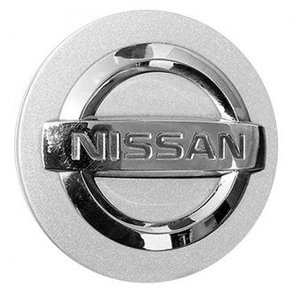 Replace® - Remanufactured Chrome Wheel Center Cap With Nissan Logo