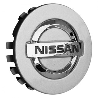 Replace® - Remanufactured Silver Wheel Center Cap With Nissan Logo