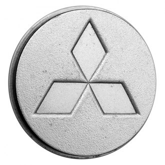 Replace® - Remanufactured Silver Wheel Center Cap With Mitsubishi Logo