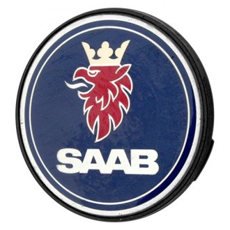 Replace® - Remanufactured Blue Wheel Center Cap With SAAB Logo