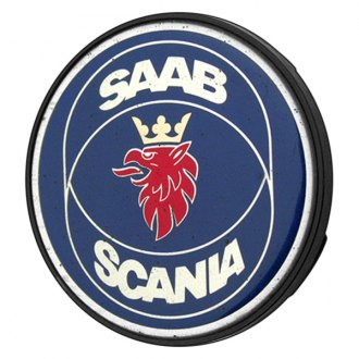 Replace® - Remanufactured Blue Wheel Center Cap With SAAB SCANIA Logo