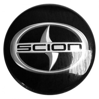 Replace® - Remanufactured Black Wheel Center Cap With SCION Logo