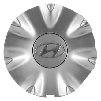 Replace® - Remanufactured Hypersilver Wheel Center Cap With Hyundai Logo