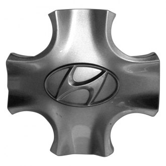 Replace® - Remanufactured Silver Wheel Center Cap With Hyundai Logo