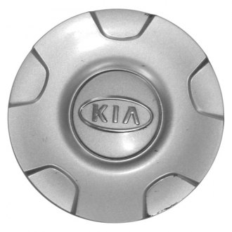Replace® - Remanufactured Silver Wheel Center Cap With KIA Logo