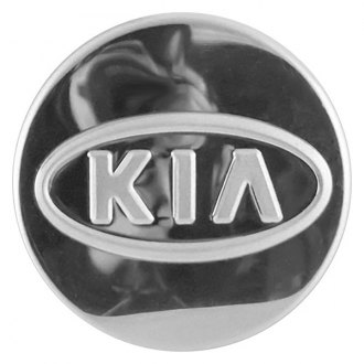 Replace® - Remanufactured Polished Wheel Center Cap With KIA Logo