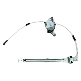 Replace® - Rear Power Window Regulator and Motor Assembly
