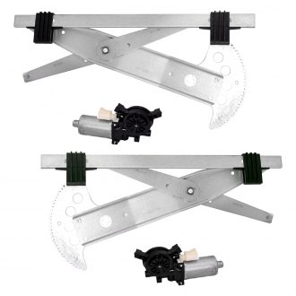 Replace® - Front Driver Side Power Window Regulator with Motor