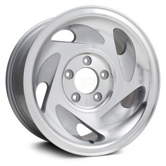 "Replikaz® - 17"" Replica 5 Teardrop Shaped Vents Silver Factory Alloy Wheel"