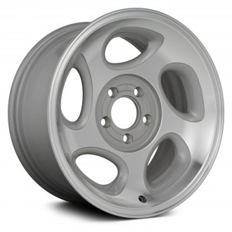"Replikaz® - 16"" Replica 5 Spokes Machined and Sparkle Silver Factory Alloy Wheel"