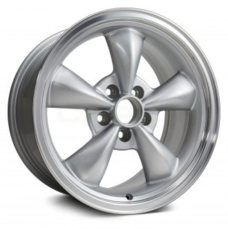 Replikaz 17x8 5 Spoke Silver Alloy Factory Wheel Replica
