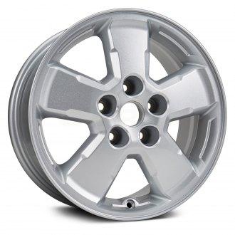 Replikaz 16x7 5 Spoke Silver Alloy Factory Wheel Replica
