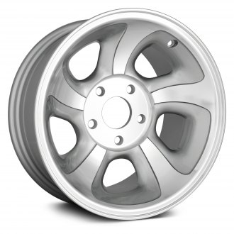 "Replikaz® - 15"" Replica 5 Slots Silver Factory Alloy Wheel"
