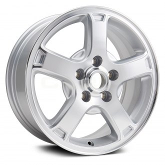 "Replikaz® - 16"" Replica 5 Spokes Silver Factory Alloy Wheel"