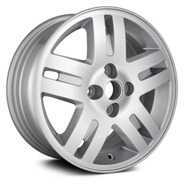 replikaz aly05246u20n 15x6 5 split spoke silver alloy factory 2008 Cadillac CTS Rims replikaz 15 x 6 5 split spoke silver alloy factory wheel replica
