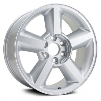 "Replikaz® - 20"" Replica 5 Spokes Silver Factory Alloy Wheel"