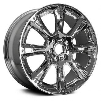 2009 gmc sierra replacement factory wheels rims carid 2003 GMC Yukon replikaz 22x9 8 spoke chrome alloy factory wheel replica