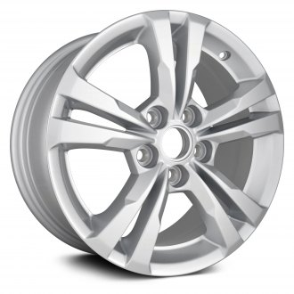 "Replikaz® - 17"" Replica 5 Double Spokes Silver Factory Alloy Wheel"