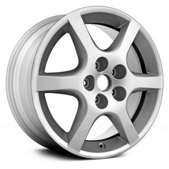 Replikaz 17x7 6 Spoke All Painted Silver Alloy Factory Wheel Replica