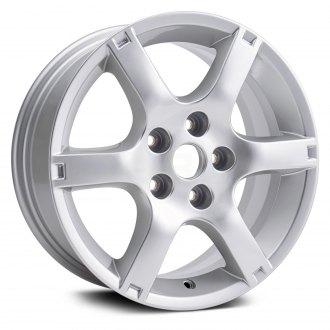 Replikaz 16x6 5 6 Spoke Silver Alloy Factory Wheel Replica