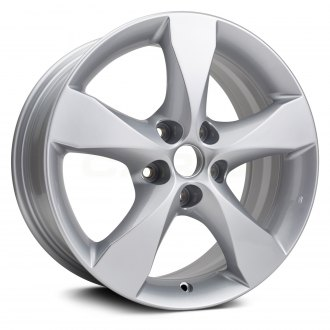 Replikaz 17x7 5 Tapered Spoke Silver Alloy Factory Wheel Replica