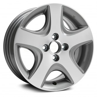 Replikaz 15x6 5 Spoke Medium Gray Alloy Factory Wheel Replica