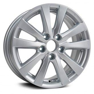 Replikaz 16x6 5 10 Spoke All Painted Silver Argent Alloy Factory Wheel