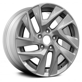 Replikaz 17x7 5 Split Spoke Silver Alloy Factory Wheel Replica