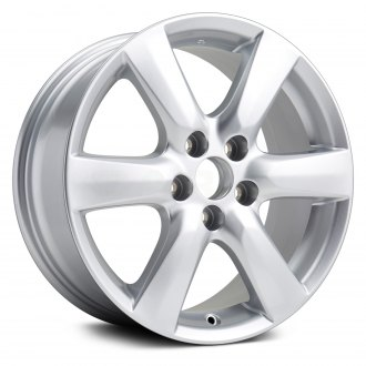 "Replikaz® - 17"" Replica 6 Spokes Silver Factory Alloy Wheel"
