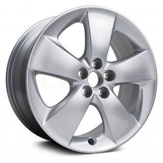 Replikaz 17x7 5 Wide Spoke Silver Alloy Factory Wheel Replica