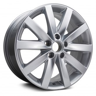 "Replikaz® - 17"" Replica 10 Spokes All Painted Silver Factory Alloy Wheel"