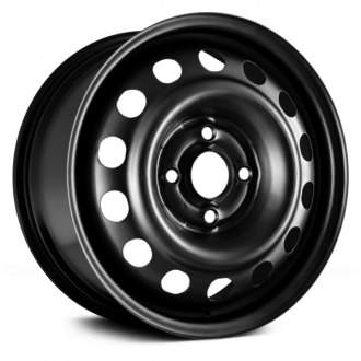 "Replikaz® - 14"" Replica 14 Holes Black Factory Steel Wheel"