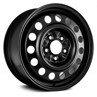"Replikaz® - 16"" Replica 15 Vents Black Factory Steel Wheel"