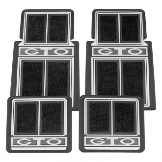 Restoparts® - Plasticolor Floor Mats Set