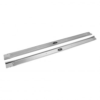 Restoparts® - Door Sills with Original Style Rivets