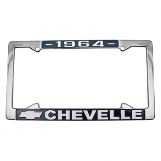 Restoparts® - License Plate Frames