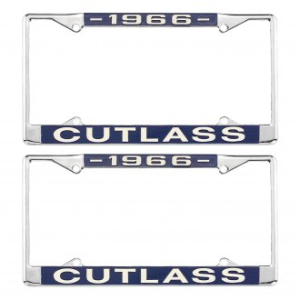 Restoparts® - License Plate Frame