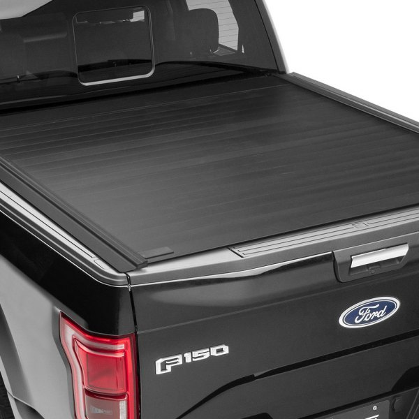 Image may not reflect your exact vehicle! Retrax® - PowertraxPRO MX™ Retractable Tonneau Cover, Closed
