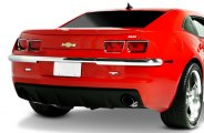 Retro USA® - Chrome Rear Upper Bumper Pad