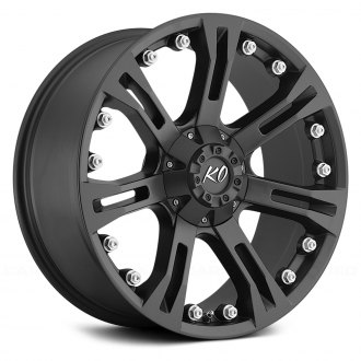 REV WHEELS® - 840 Matte Black
