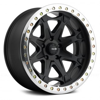 REV WHEELS® - 882 Matte Black with Polished Ring