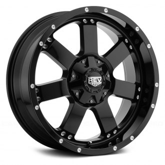REV WHEELS® - 885 Gloss Black
