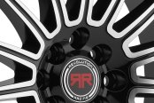 REVOLUTION RACING® - RR02 Black with Machined Face Close-Up